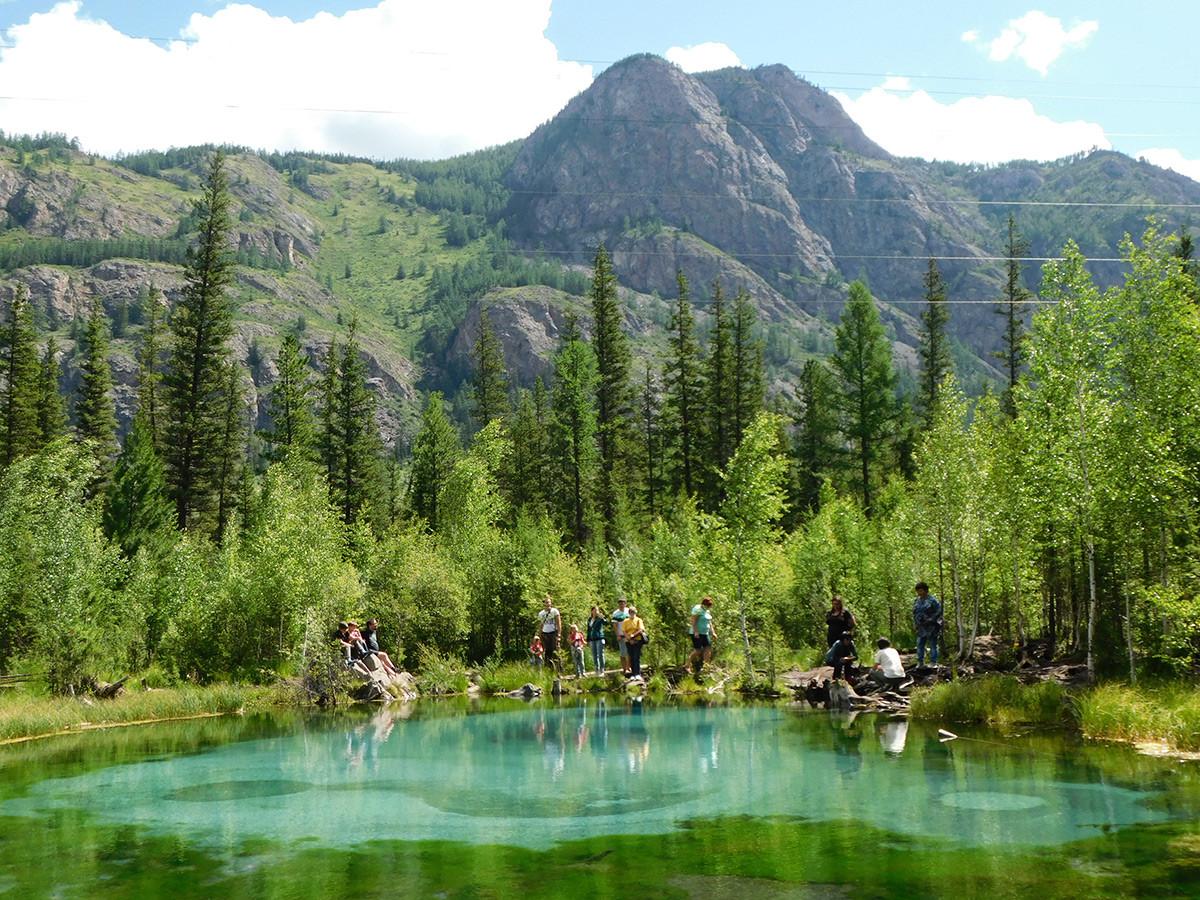 El lago Geiser