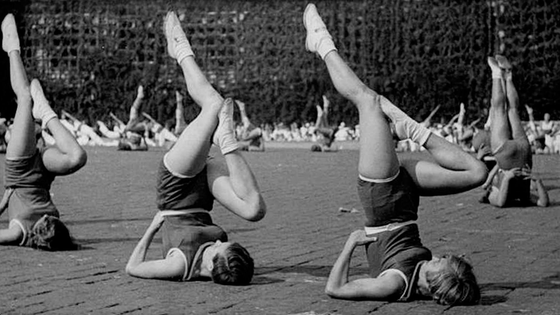 Гимнастички в действие, 1936 г.