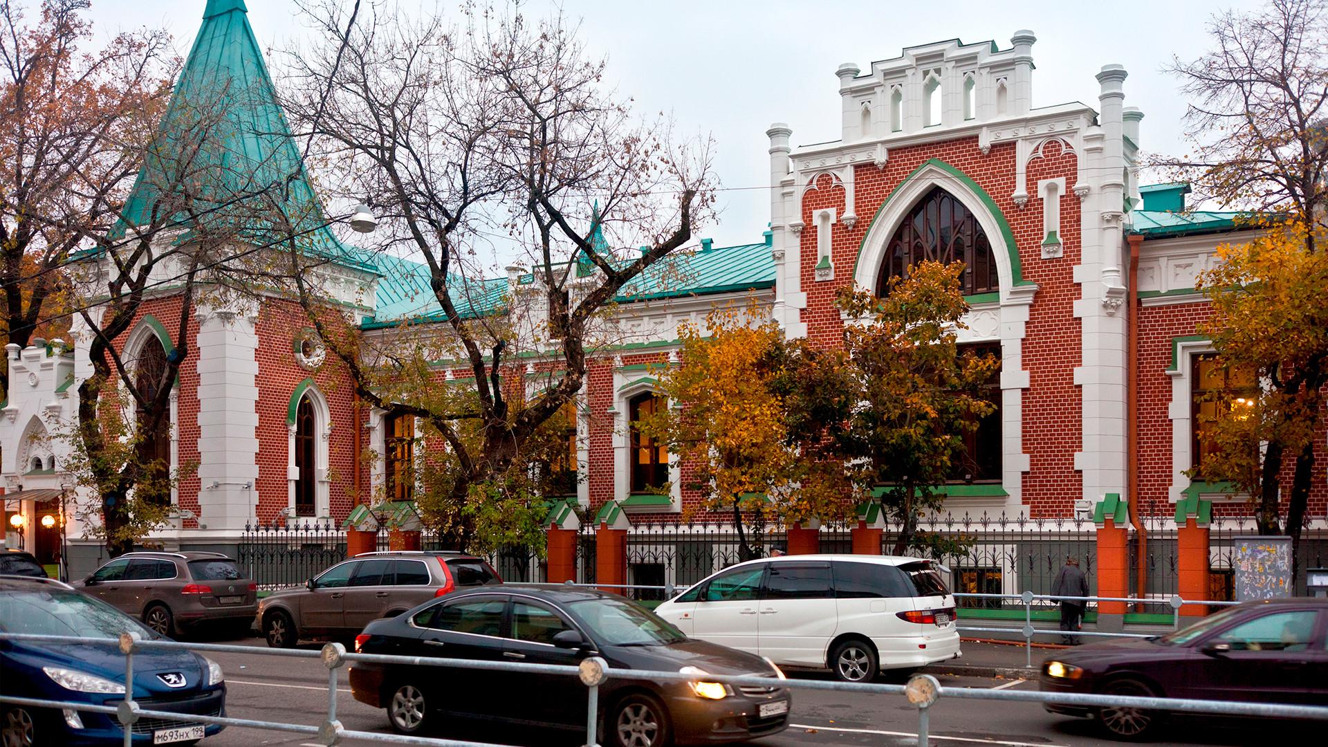 Театральный музей Бахрушина.