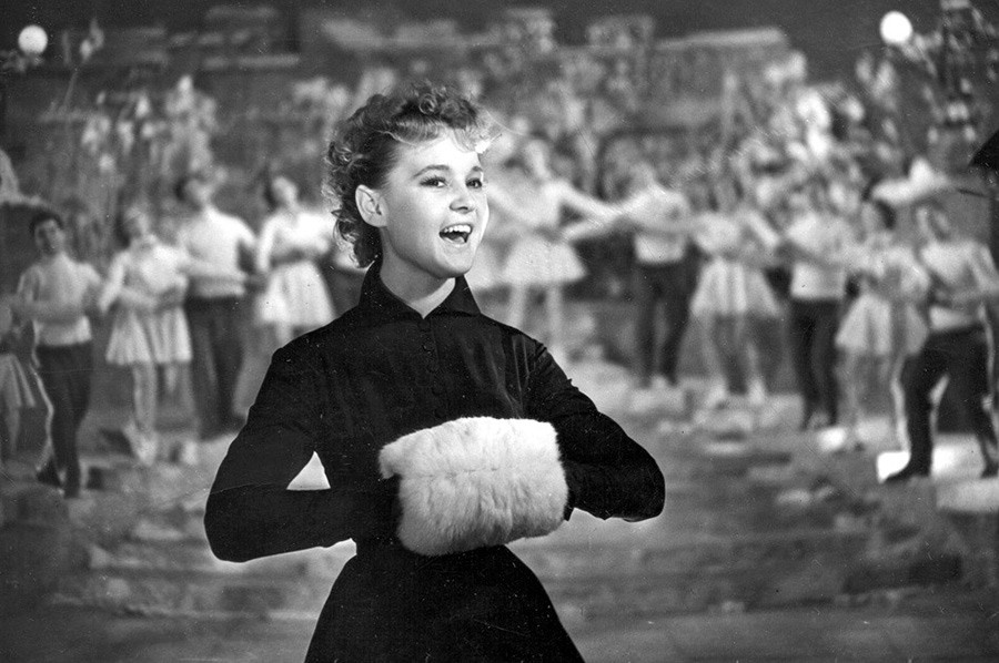 映画「すべてを五分で」に出演するリュドミラ・グルチェンコ