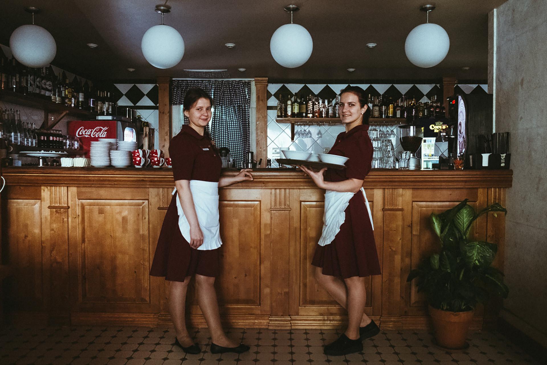 Intérieurs du café Varenitchnaïa