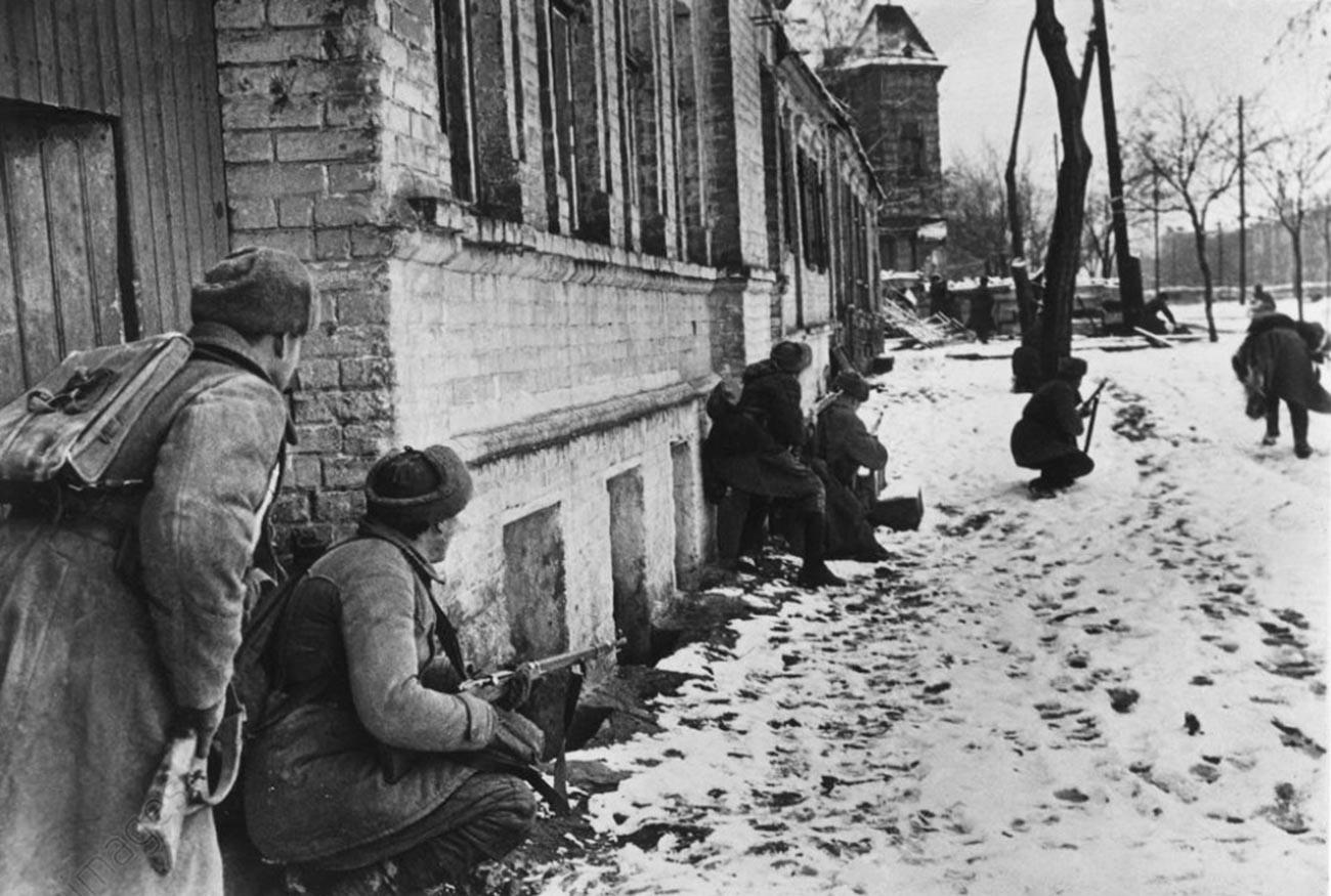 Batallas callejeras en Rostov del Don