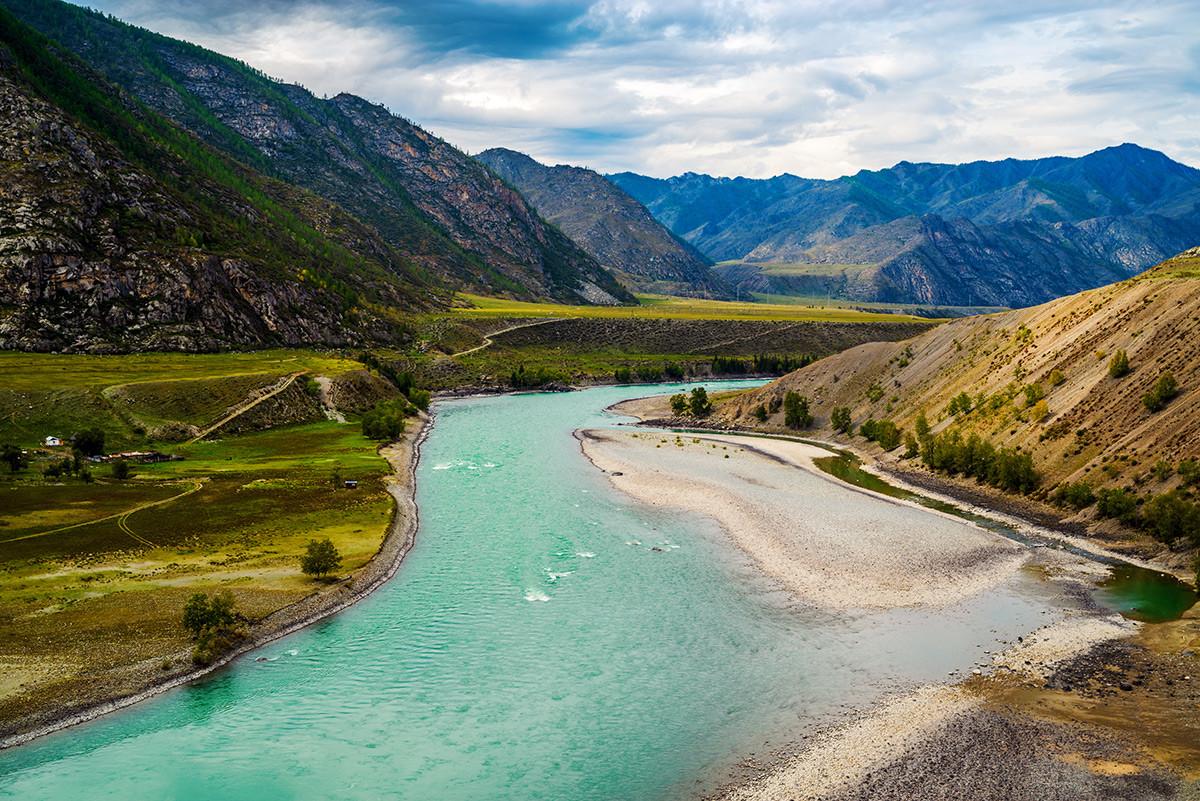 La valle del fiume Katun
