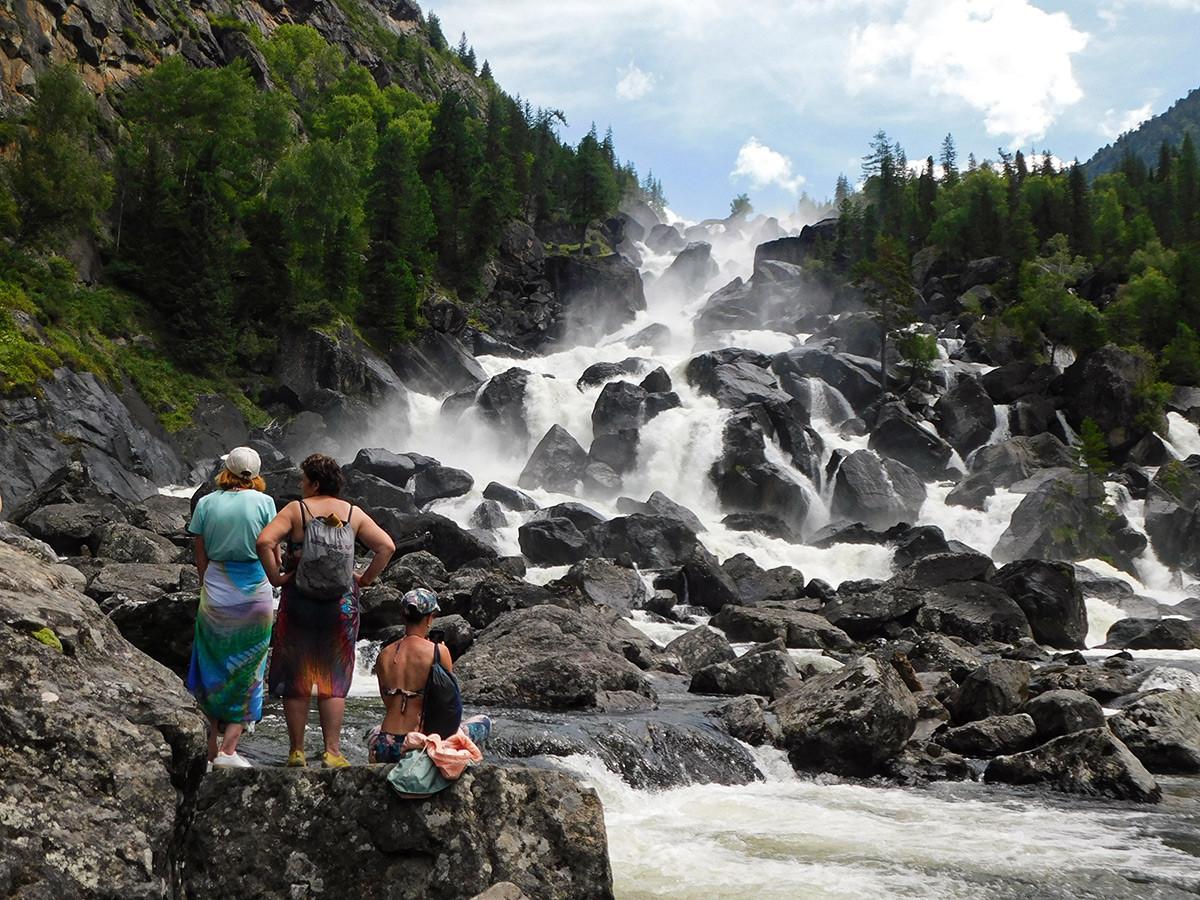 Le cascate di Uchar