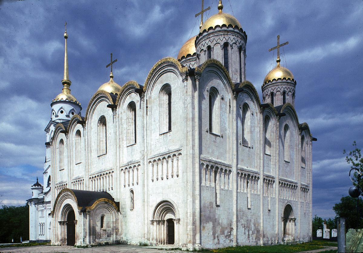 Cathédrale de la Dormition, vue vers le sud-ouest