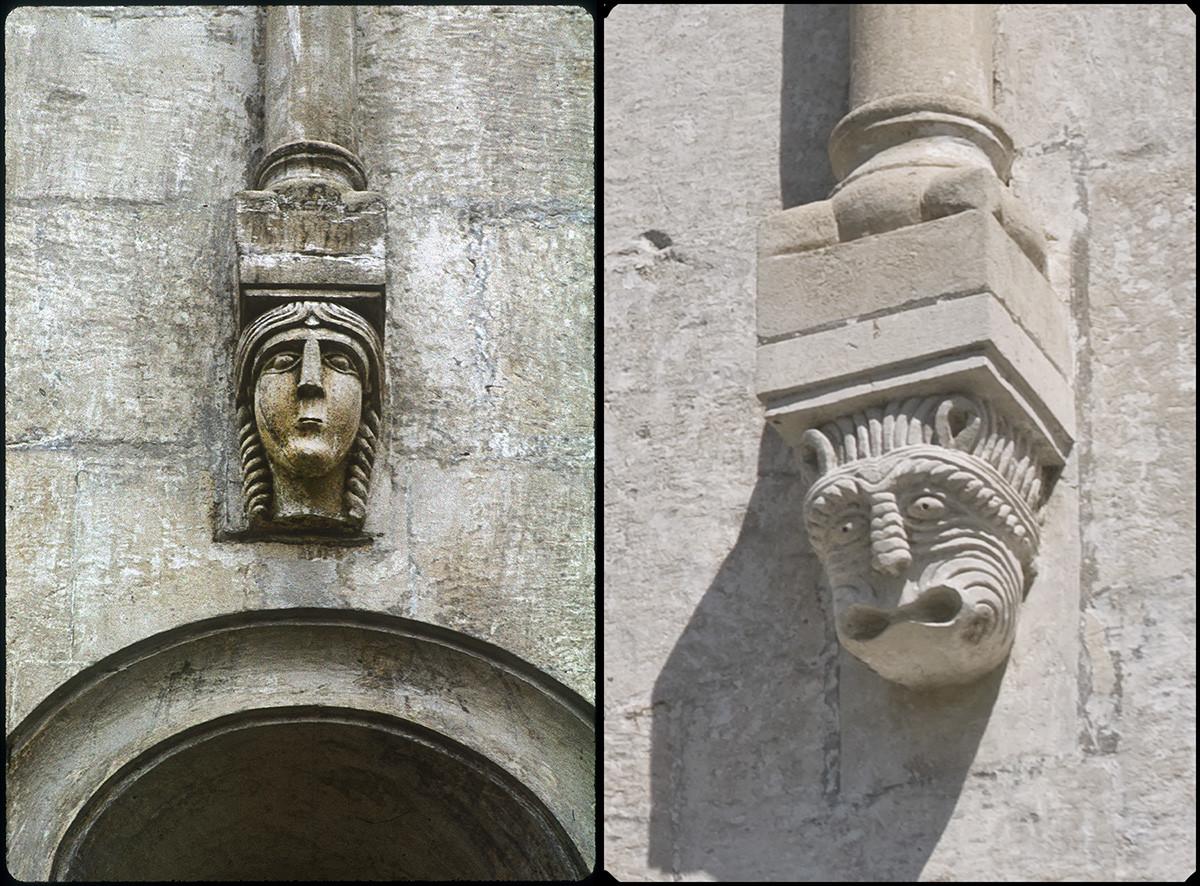 Cathédrale de la Dormition. Façade ouest, bloc sculpté