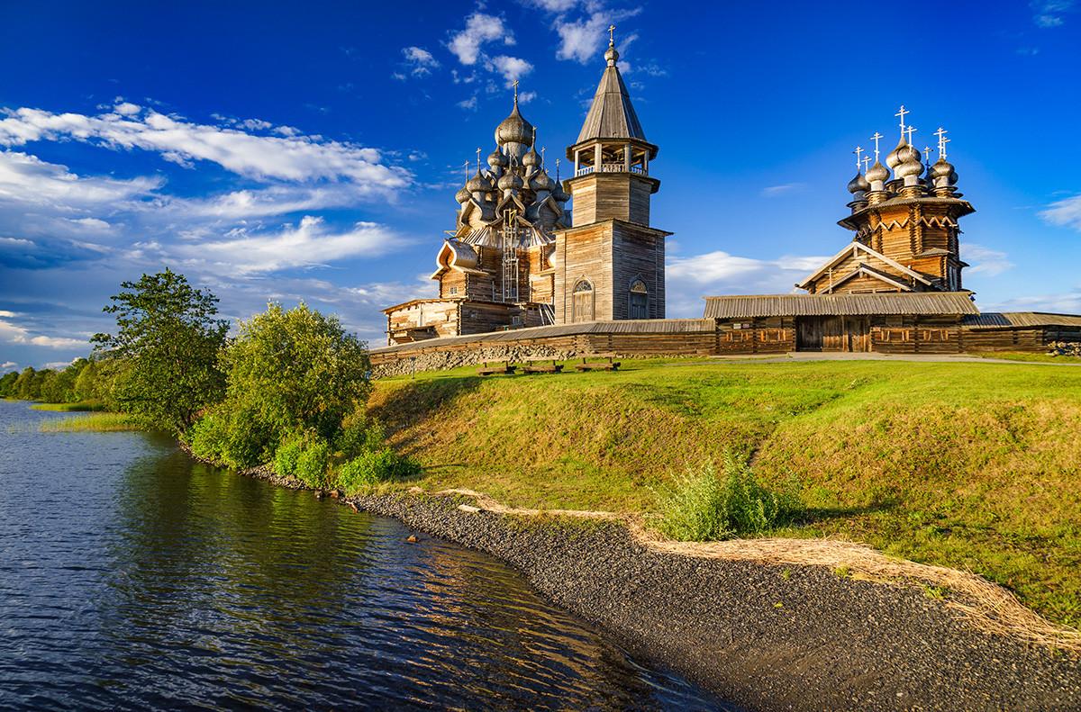 Удивительная деревянная архитектура XVII века