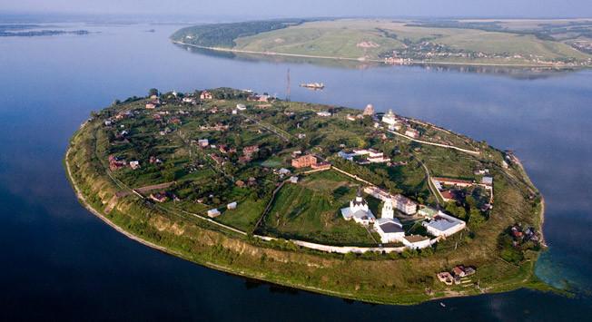 Успенский Богородицкий монастырь на Острове-граде Свияжске