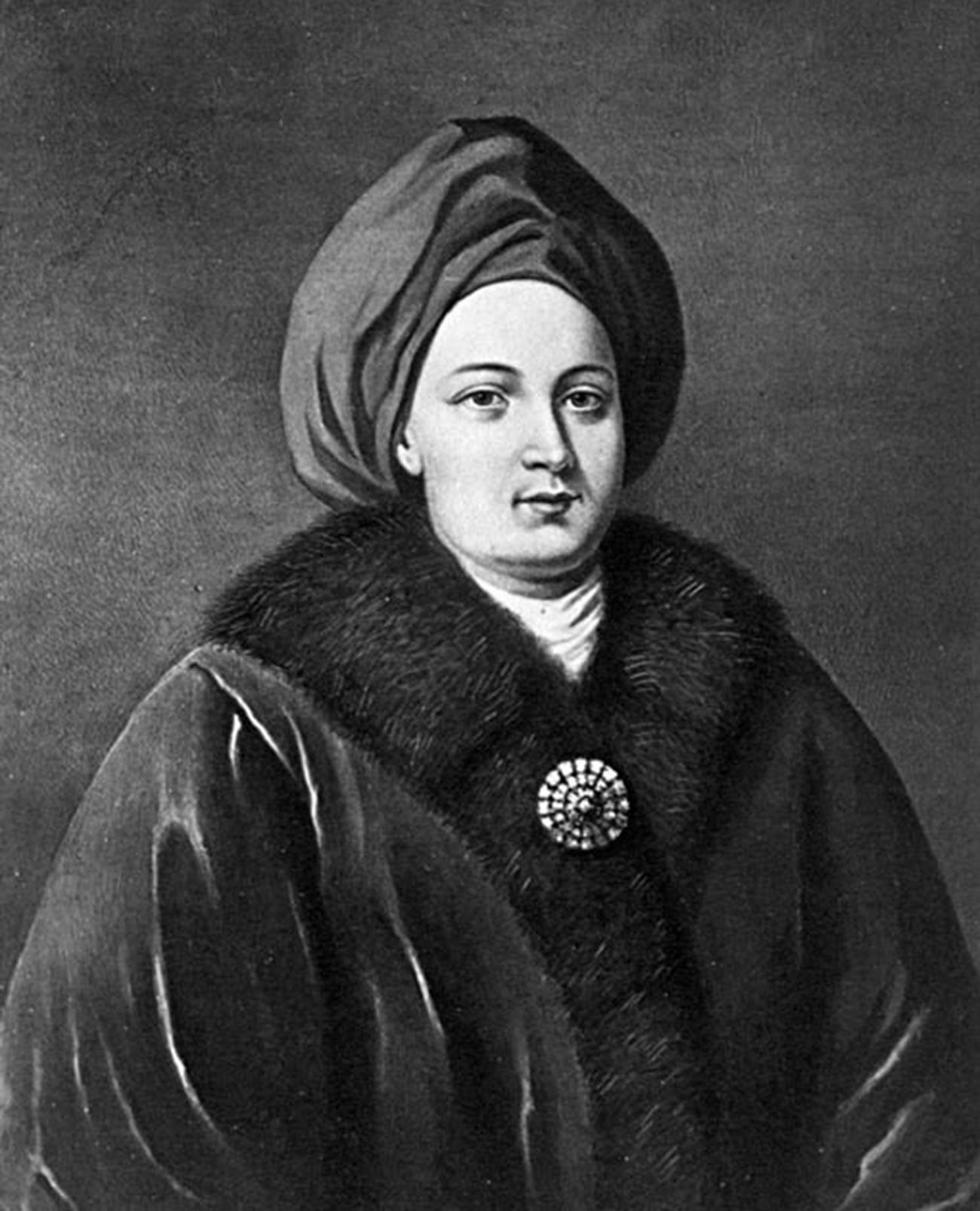 Marta Aleksêievna (1652-1707), irmã de Pedro.