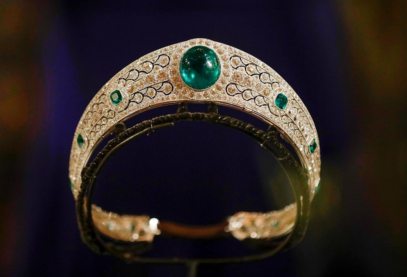 The Greville Emerald Kokoshnik.