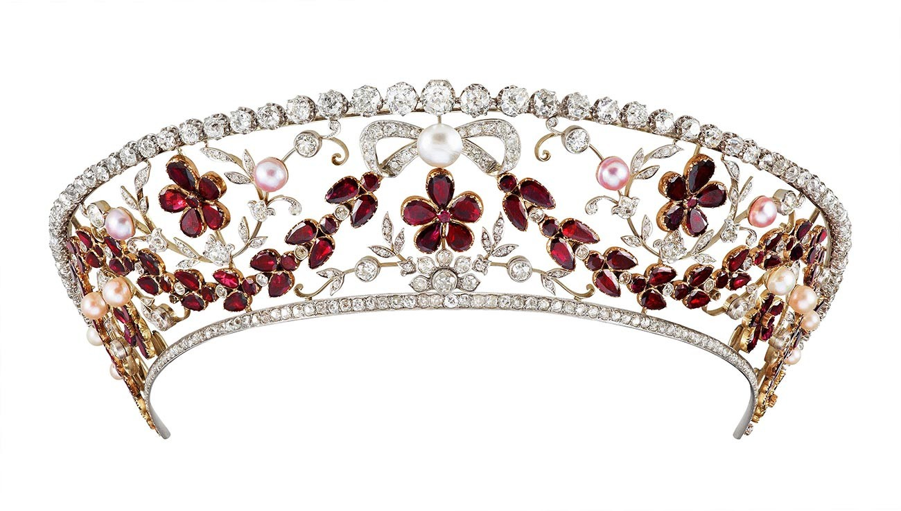 The Garnet Kokoshnik.