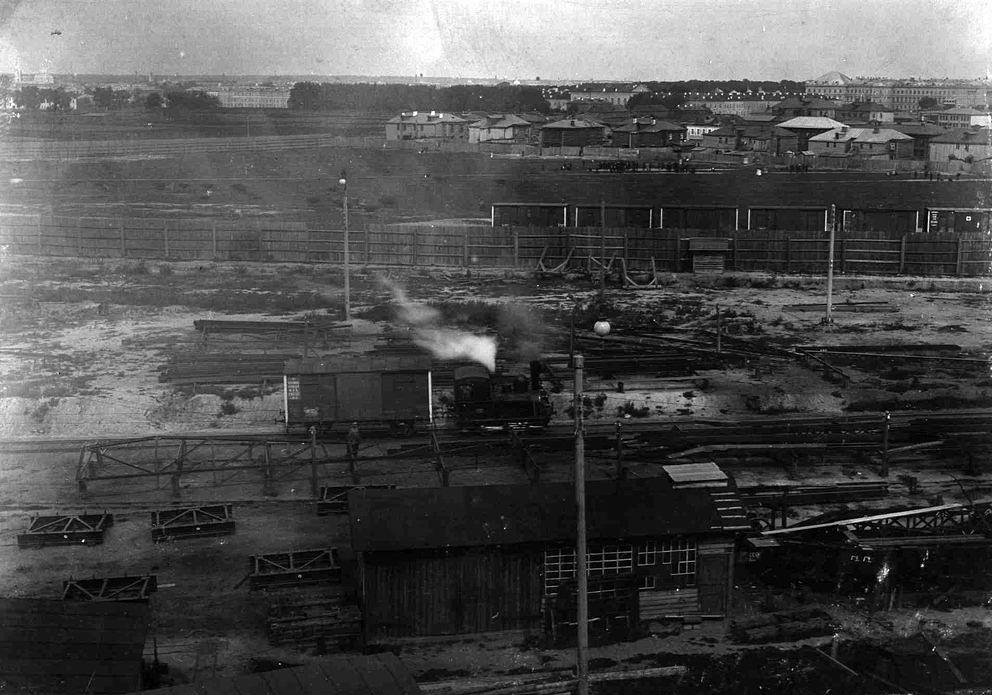 Lo stabilimento di Goujon all'inizio del XX secolo