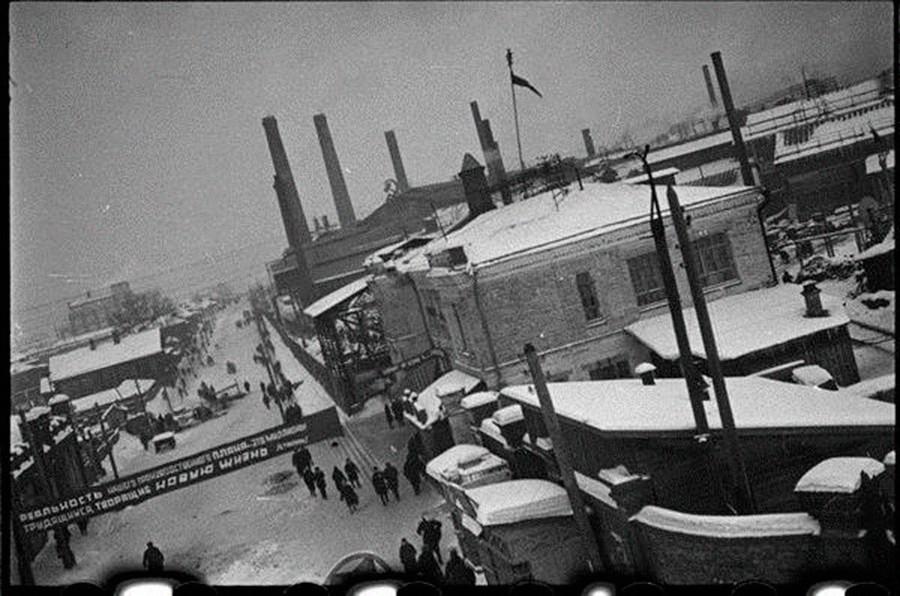 """L'impianto """"Serp i molot"""" negli anni '30"""