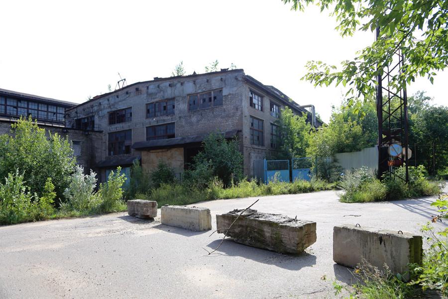 Un magazzino abbandonato