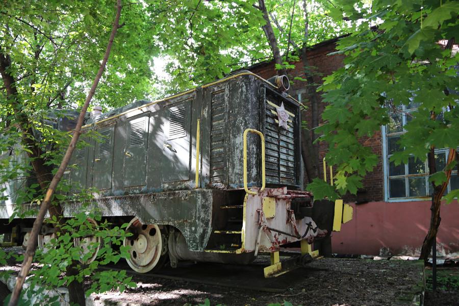 Le locomotive utilizzate per il trasporto interno delle merci