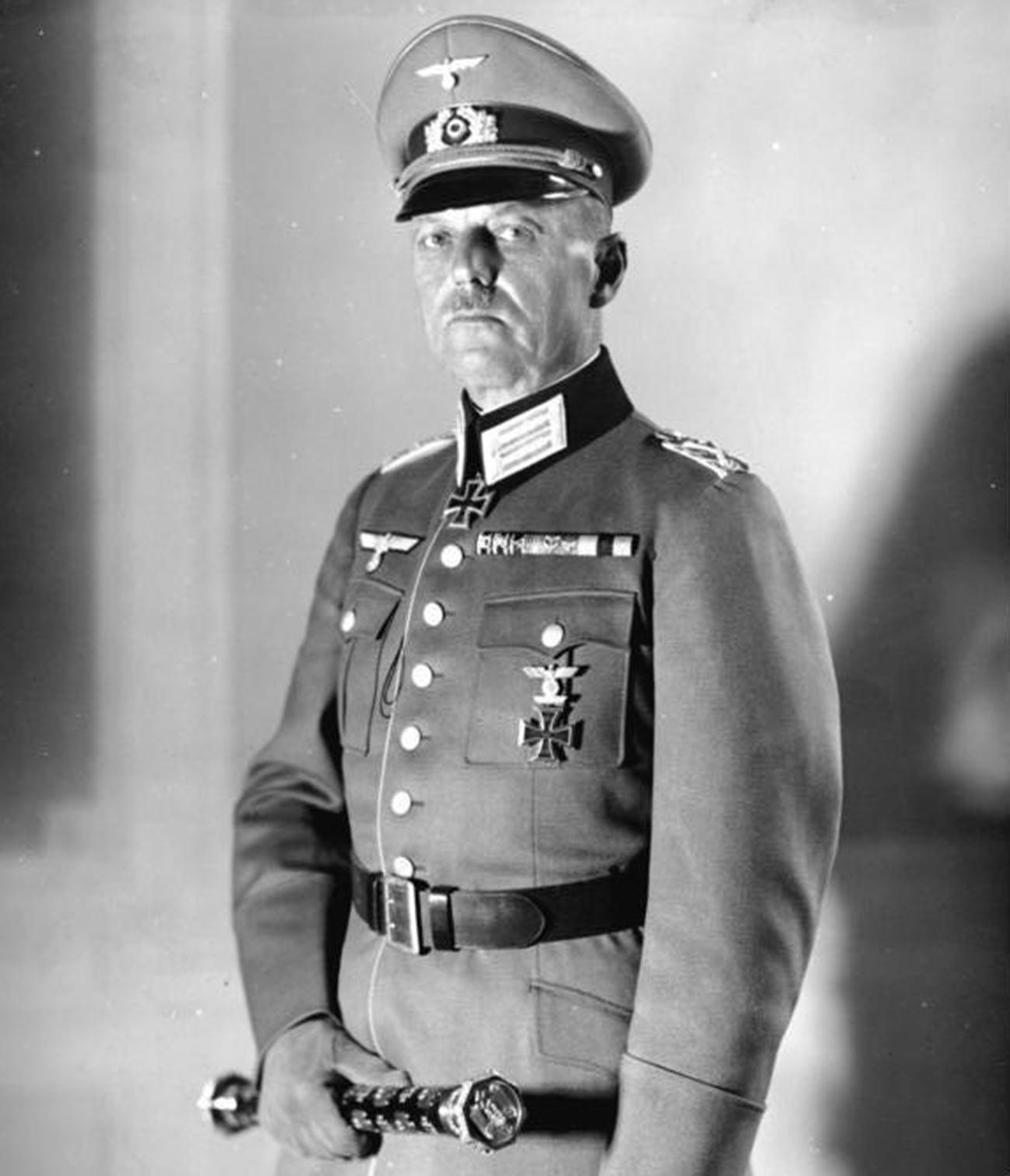 Marechal de campo Gerd von Rundstedt