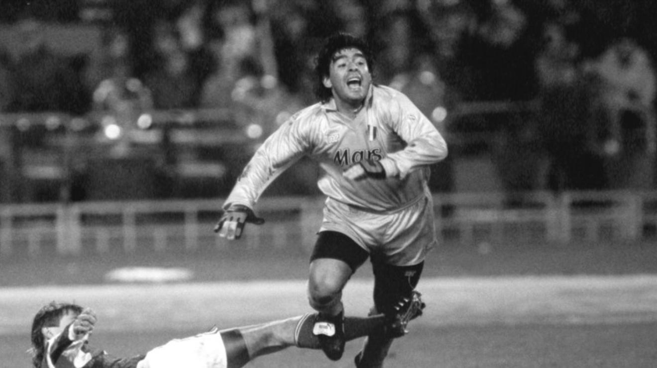 СССР, Москва, осмина финали за Купата на европейския шампион (Шампионска лига) по футбол 1990-91. В мача между