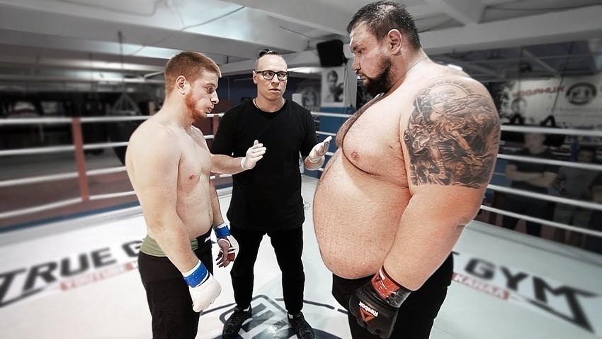 Tangkapan layar saluran YouTube  TRUE GYM MMA