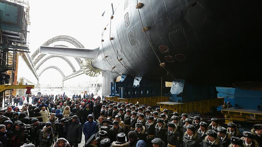 """Нуклеарна подморница """"Казањ"""""""