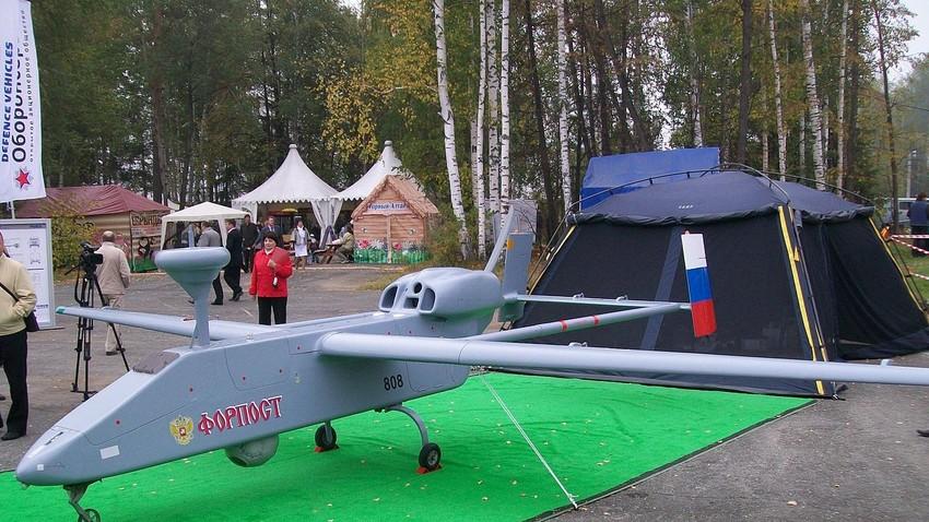 Fotografía del dron ruso 'Forpost'
