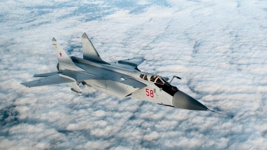 El actual caza MiG-31.