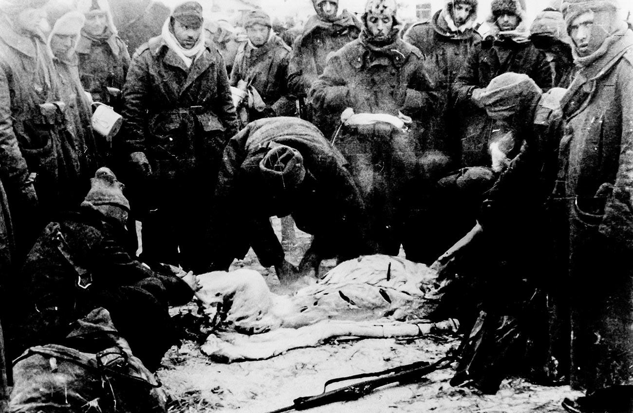 Итальянские войска после разгрома зимы 1942-1943 гг.