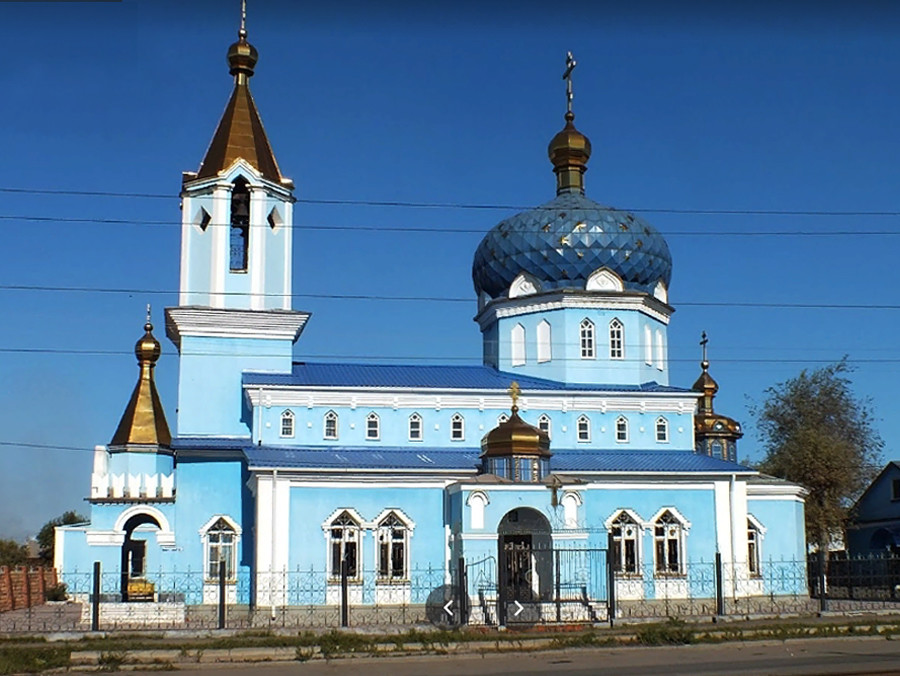 Church of St. Nicholas in Magnitogorsk, built in 1946