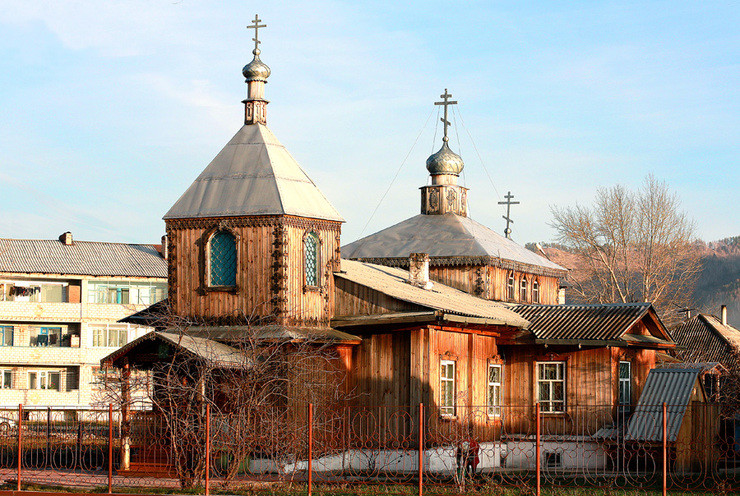 Annunciation Church in Abaz, Republic of Khakassia, built in 1980