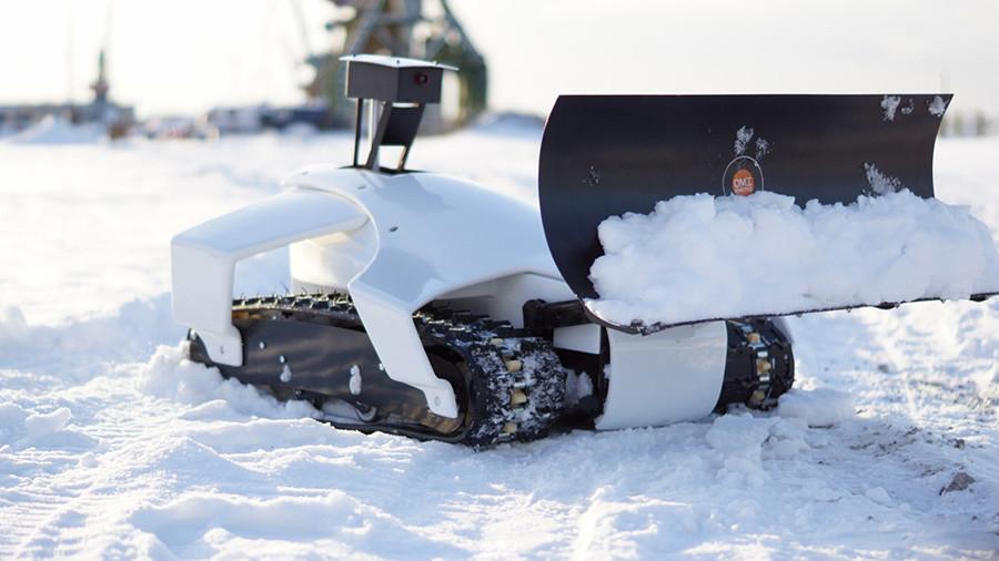 Robô criado por Kivokurtsev e colegas