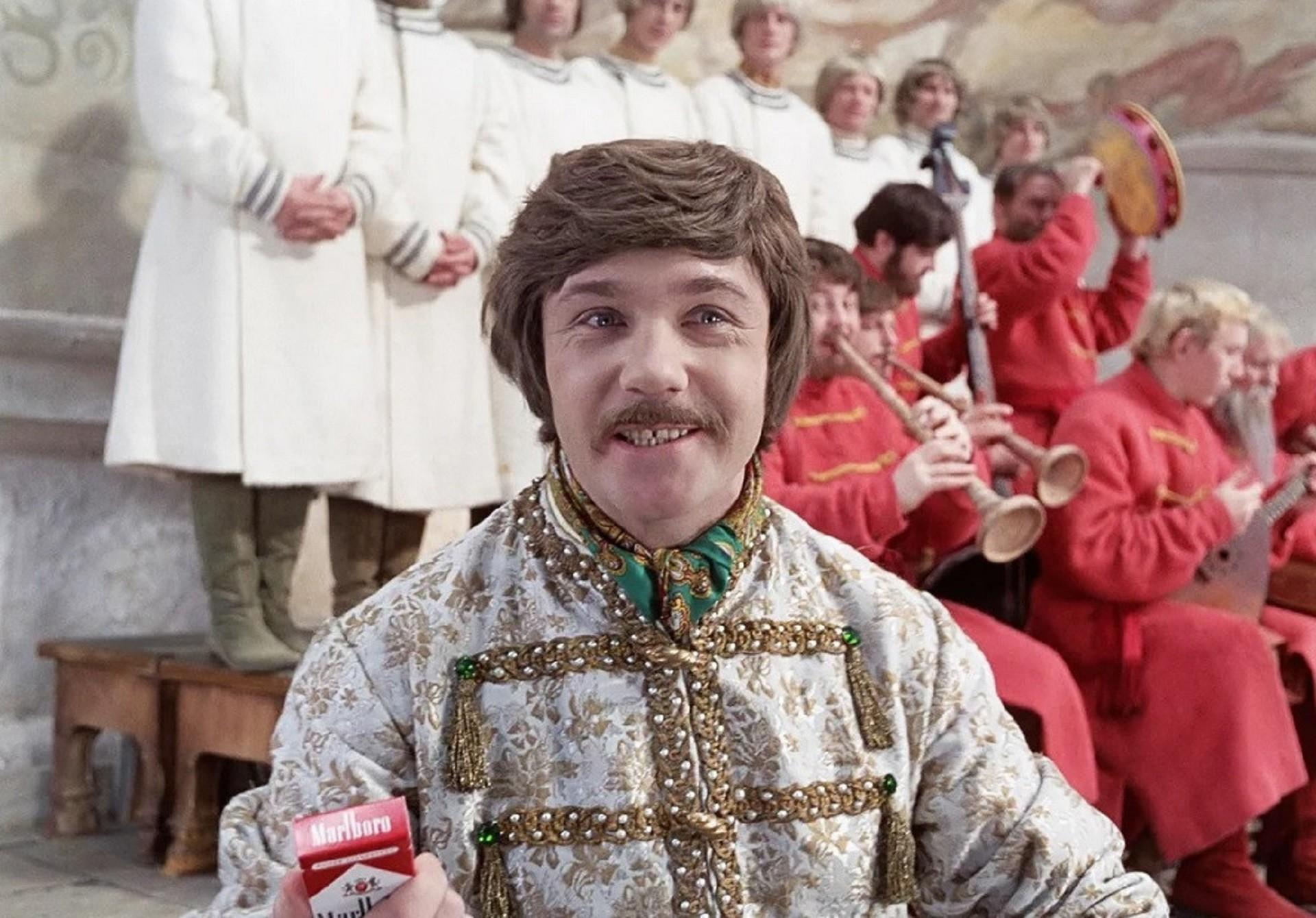 """Cena do filme  """"Ivan Vassilevich Muda de Profissão"""" (1973)."""