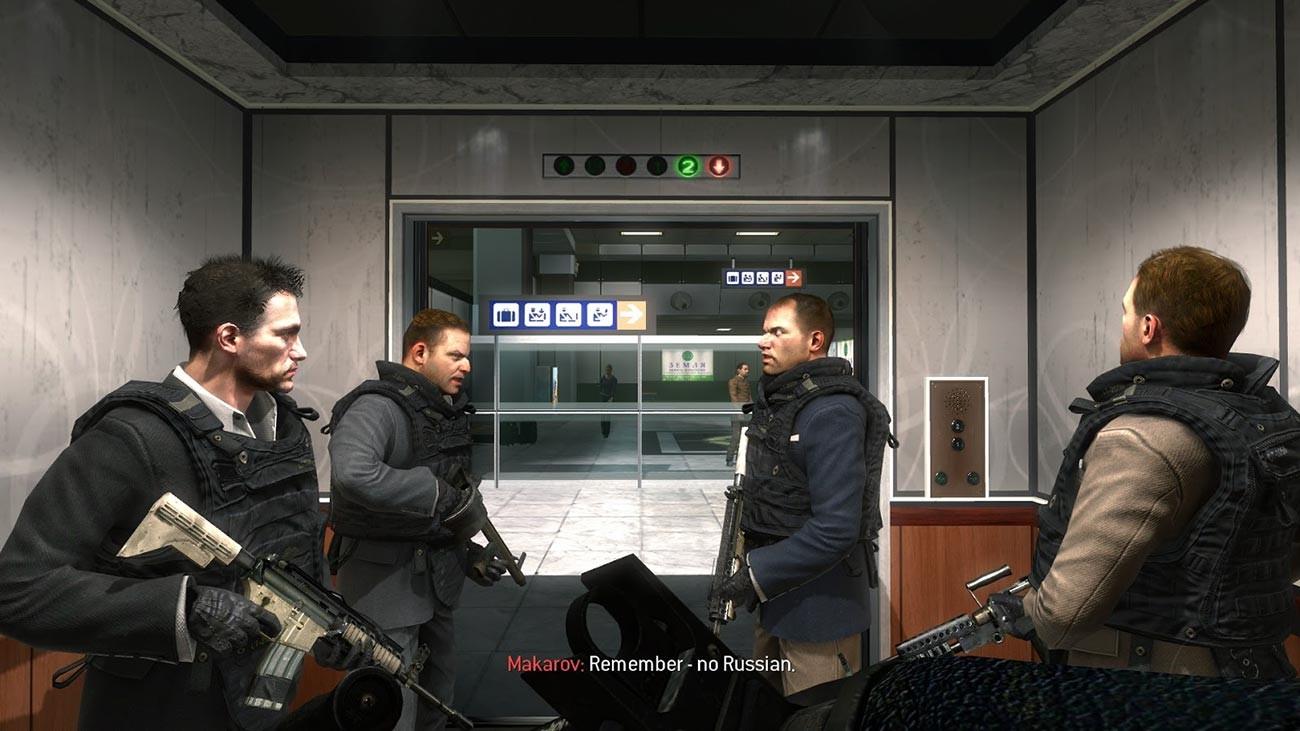 'No Russian' mission in 'Call of Duty: Modern Warfare 2'