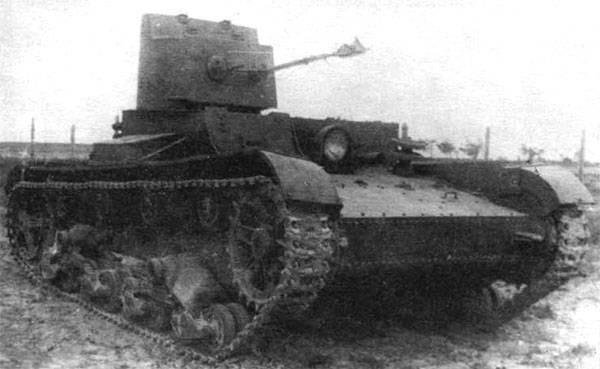 Tanque lanzallamas OT-26