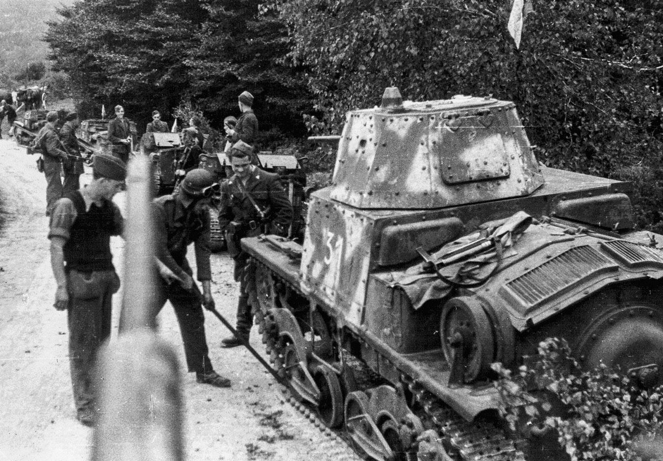 L6/40 tank.