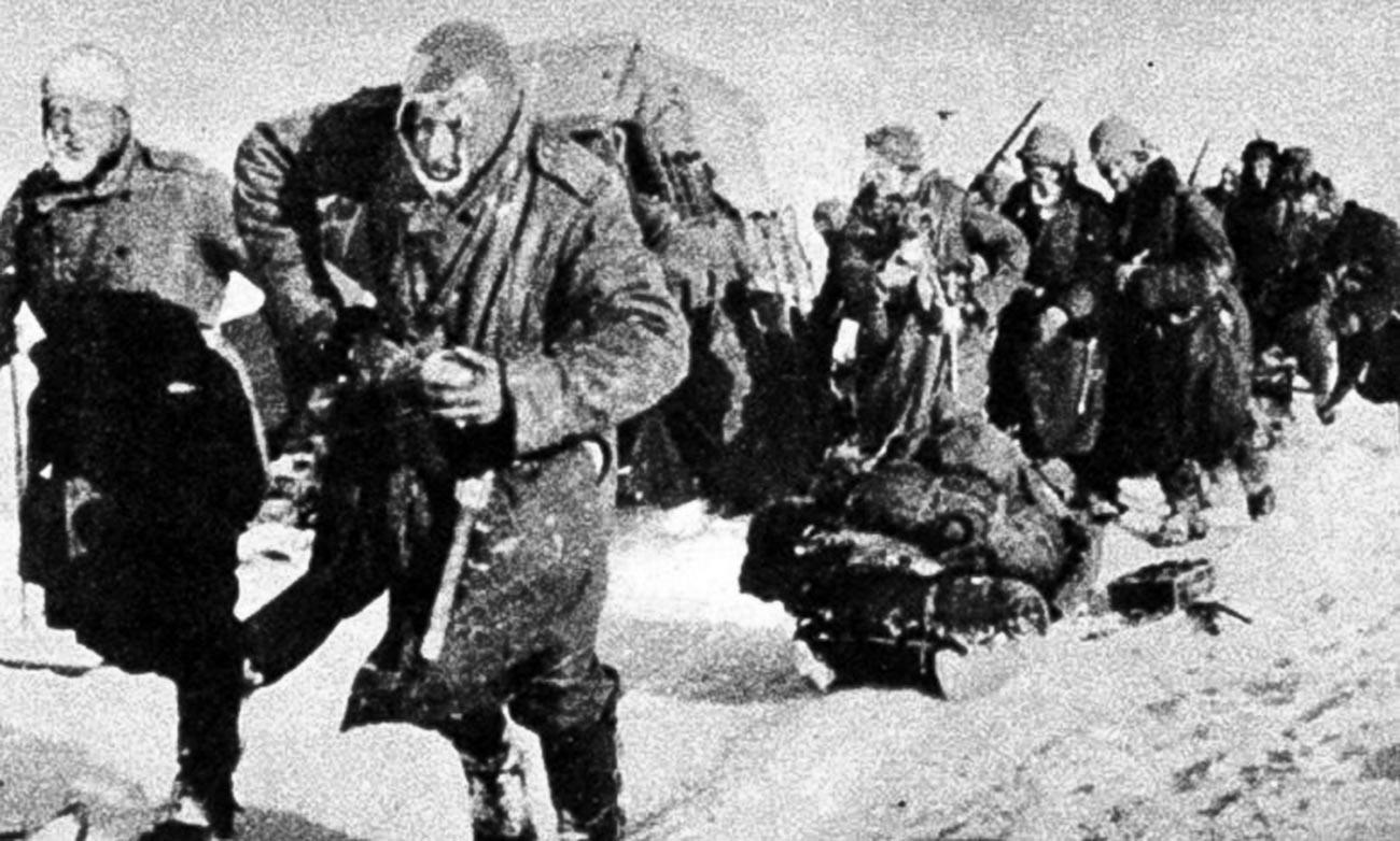 La 8ème armée, également connue sous le nom d'armée italienne en Russie (Armata Italiana in Russia, ARMIR)