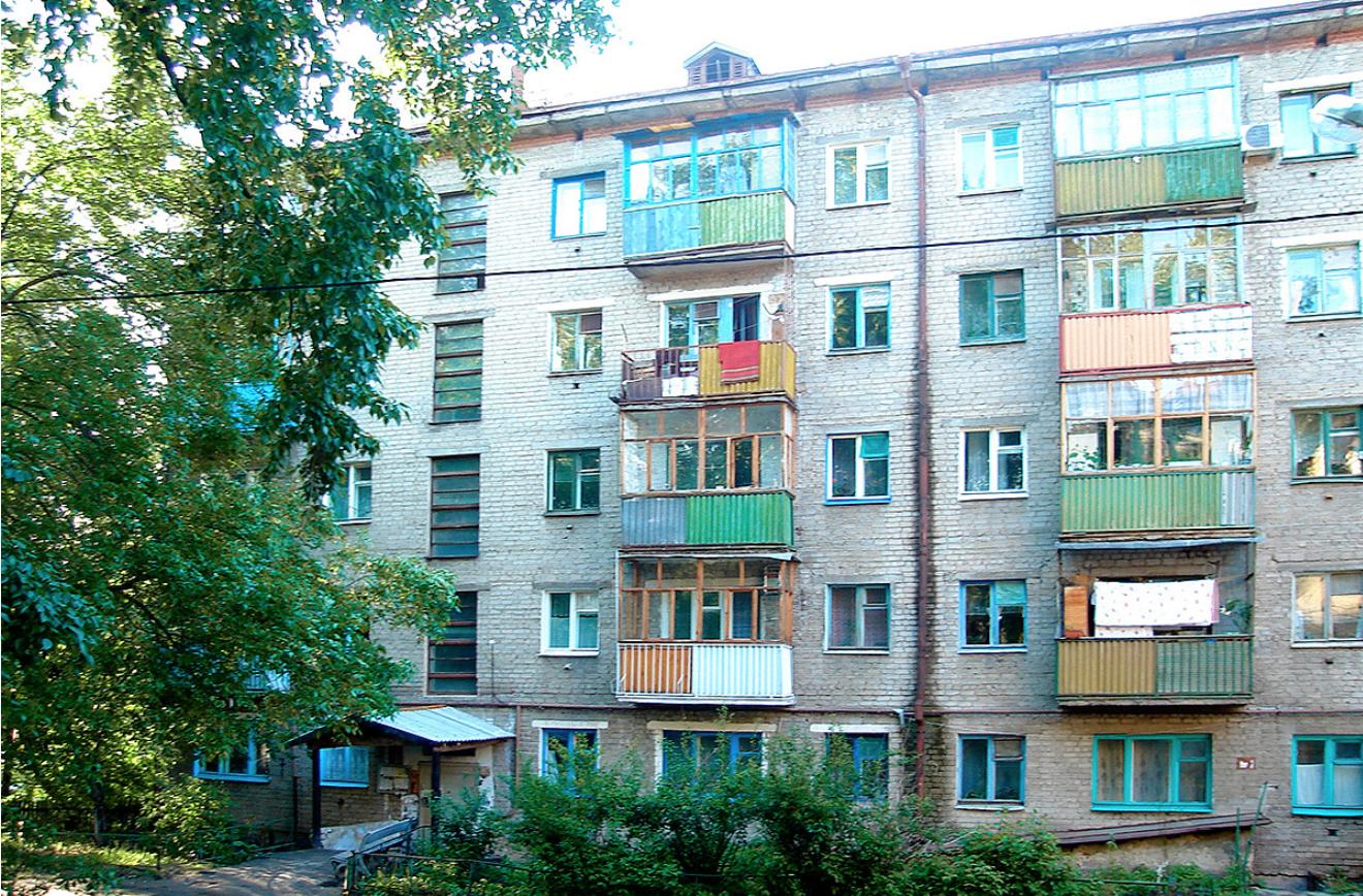 Типична хрушчовка в Казан