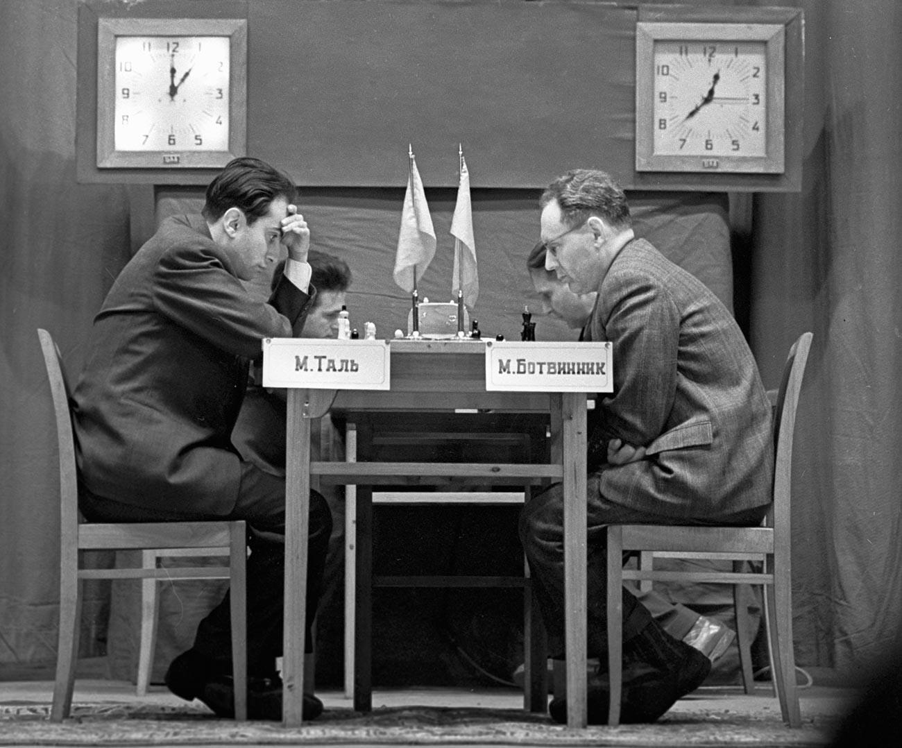 Tal vs Botvinnik, 1960.
