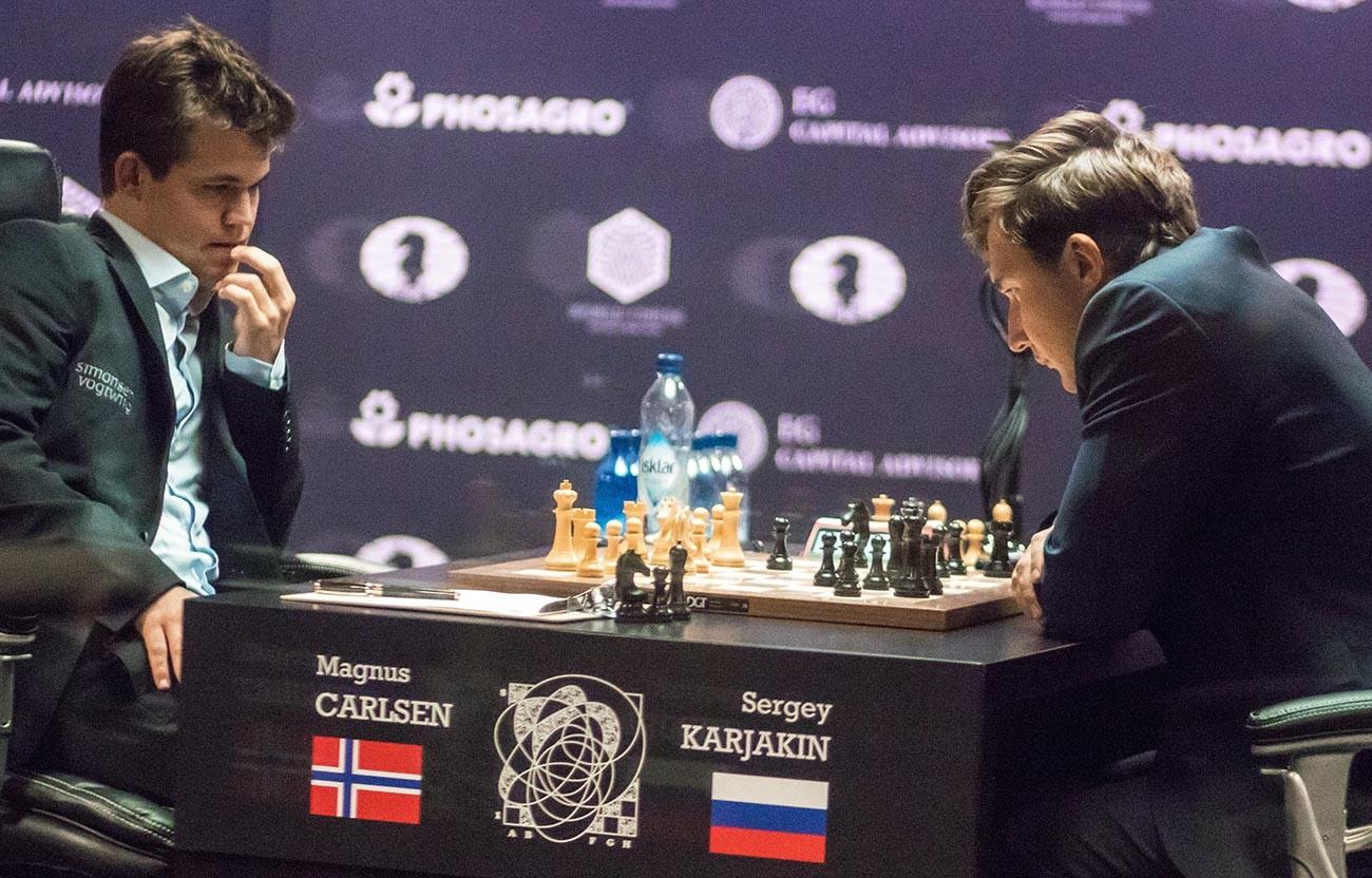 Carlsen vs Karjakin, 2016.