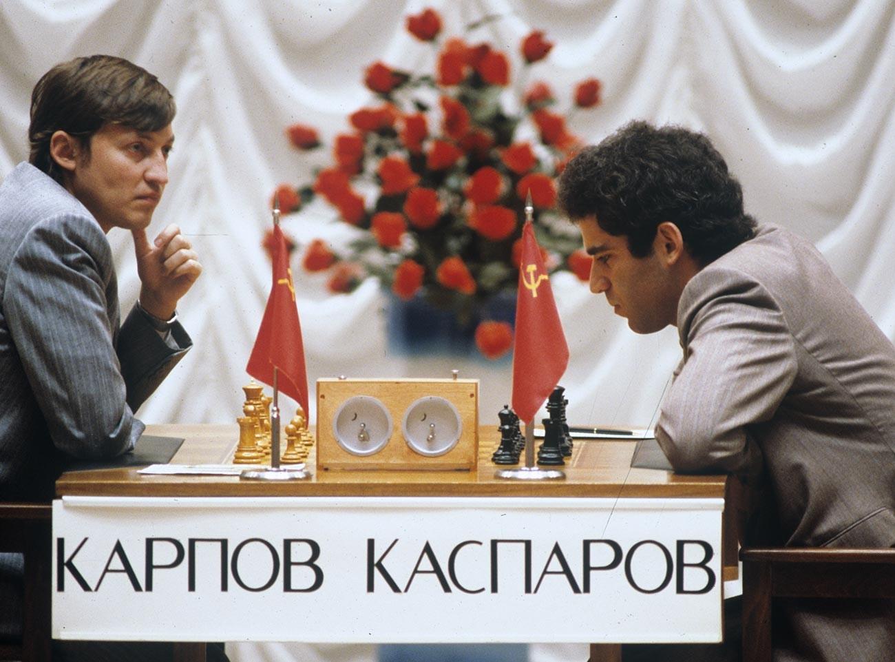 Kasparov vs Karpov, 1986.