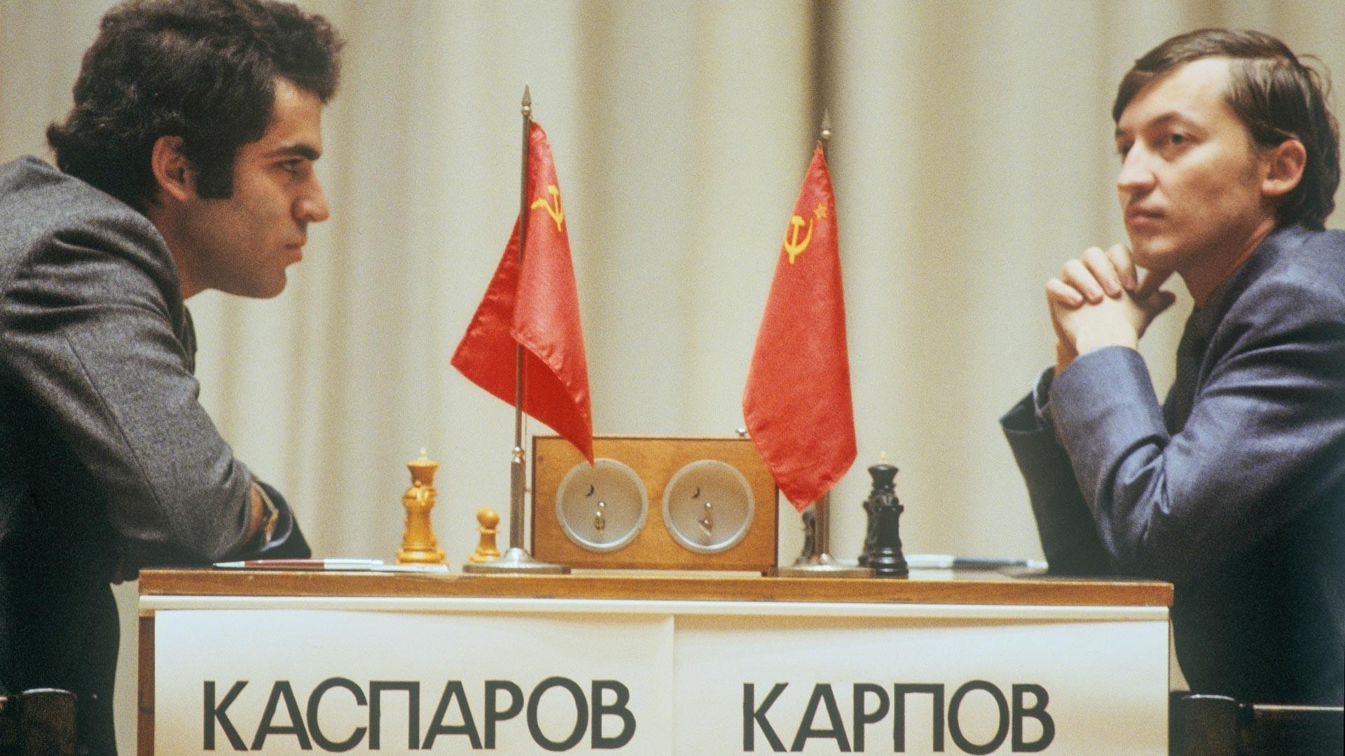 Kasparov vs Karpov, 1985.