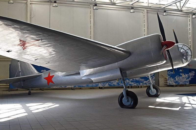 Ejemplar de DB-3 expuesto en el Museo de Monino (Moscú)