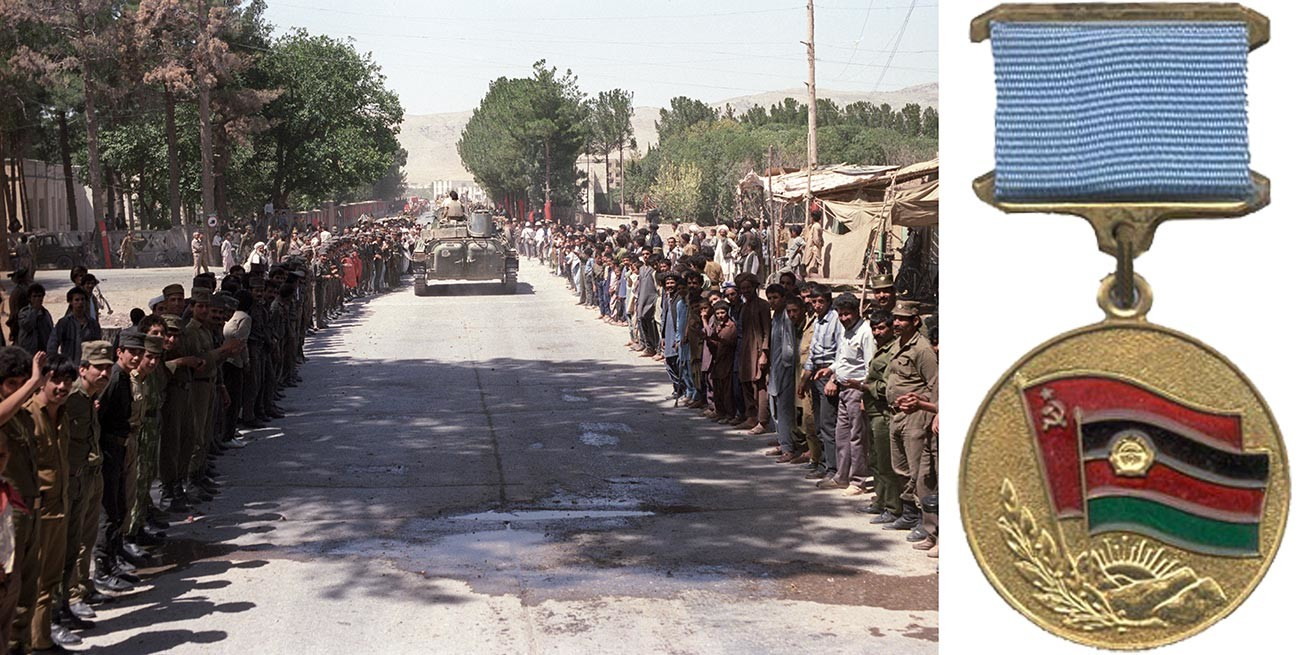 The withdrawal of the last Soviet troops from Afghanistan.