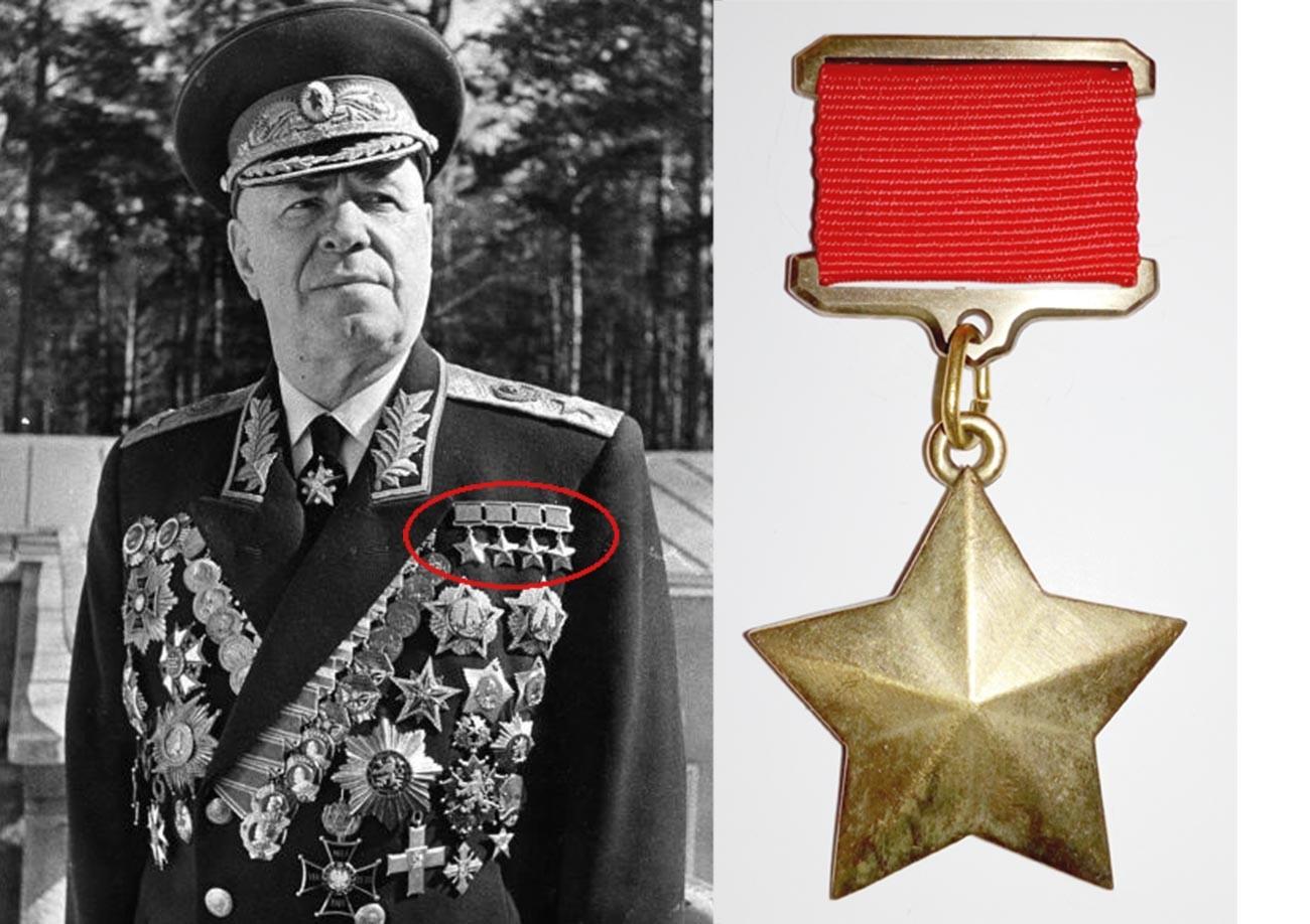 Маршал Георгий Жуков.