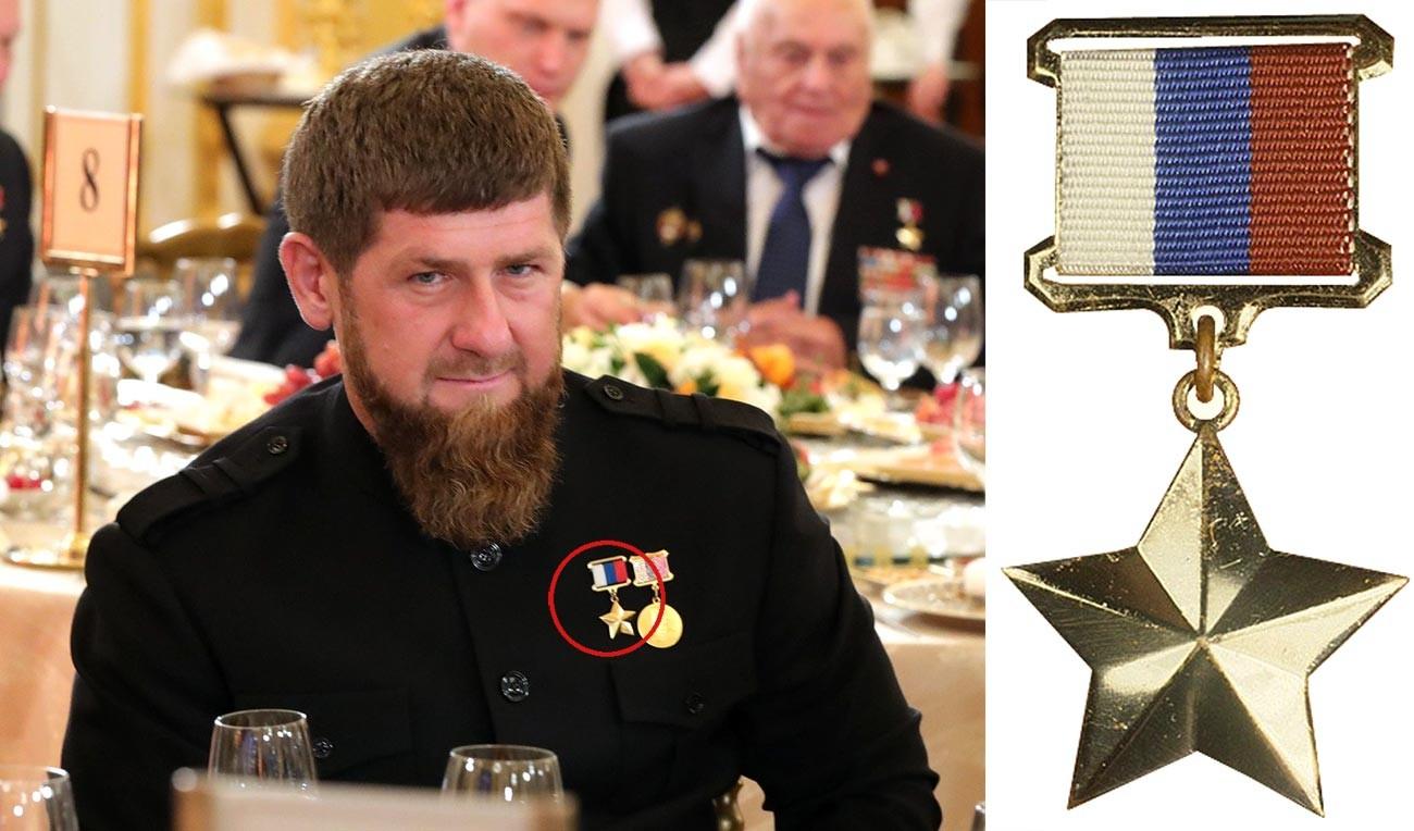 Глава Чеченской Республики, Герой России Рамзан Кадыров.