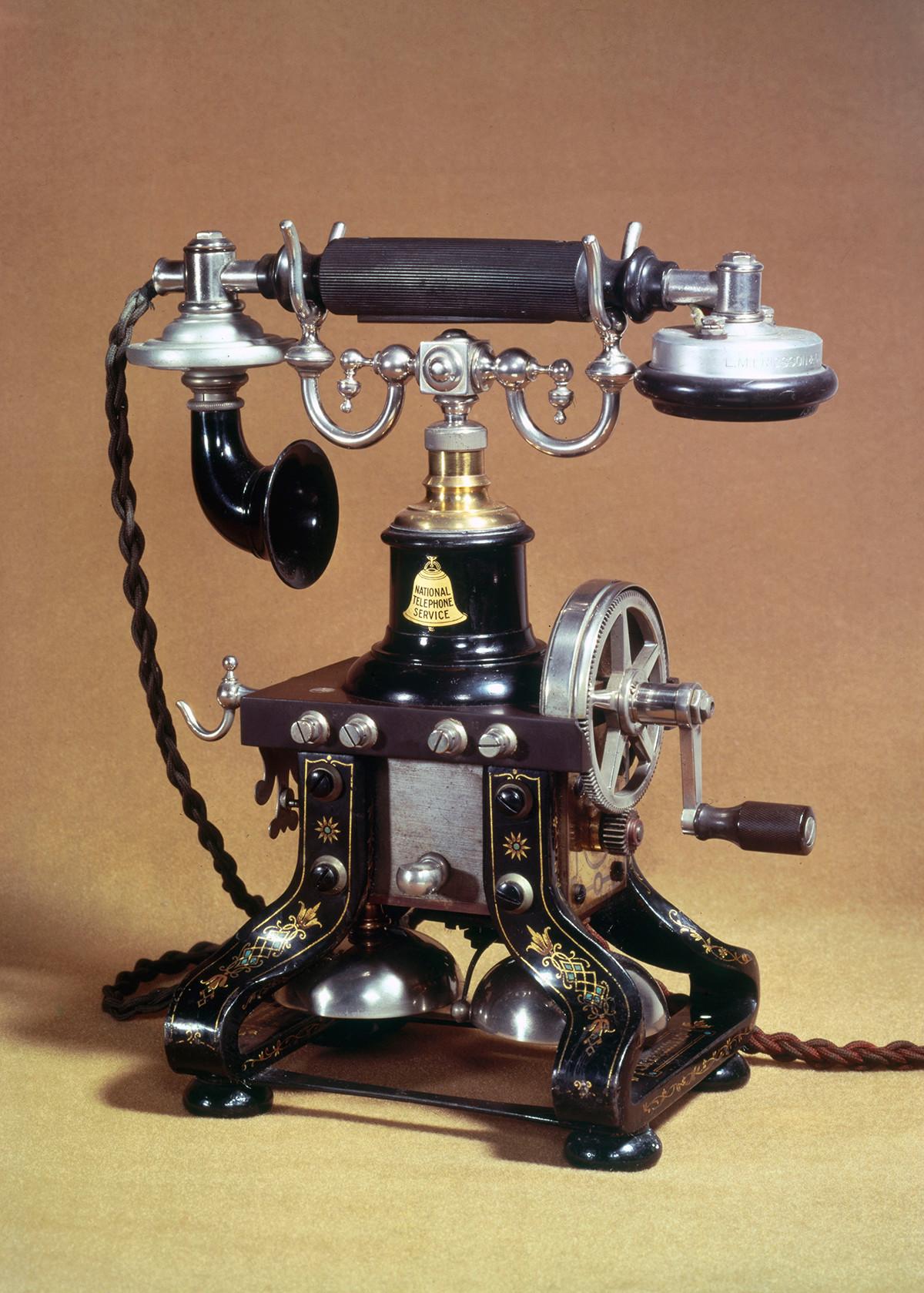 Téléphone de table Ericsson, 1890