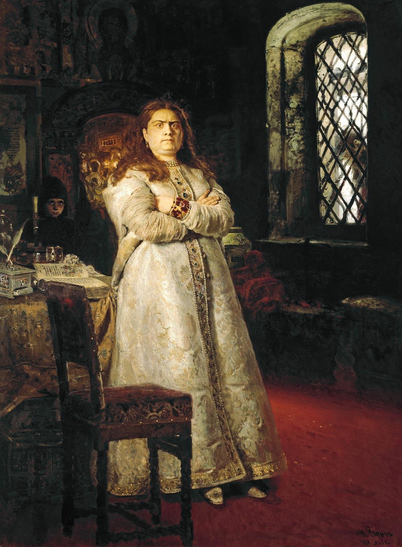 Sophia Alexejewna im Nowodewitschi-Kloster