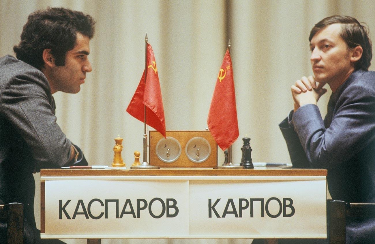 Каспаров против Карпова, 1985.
