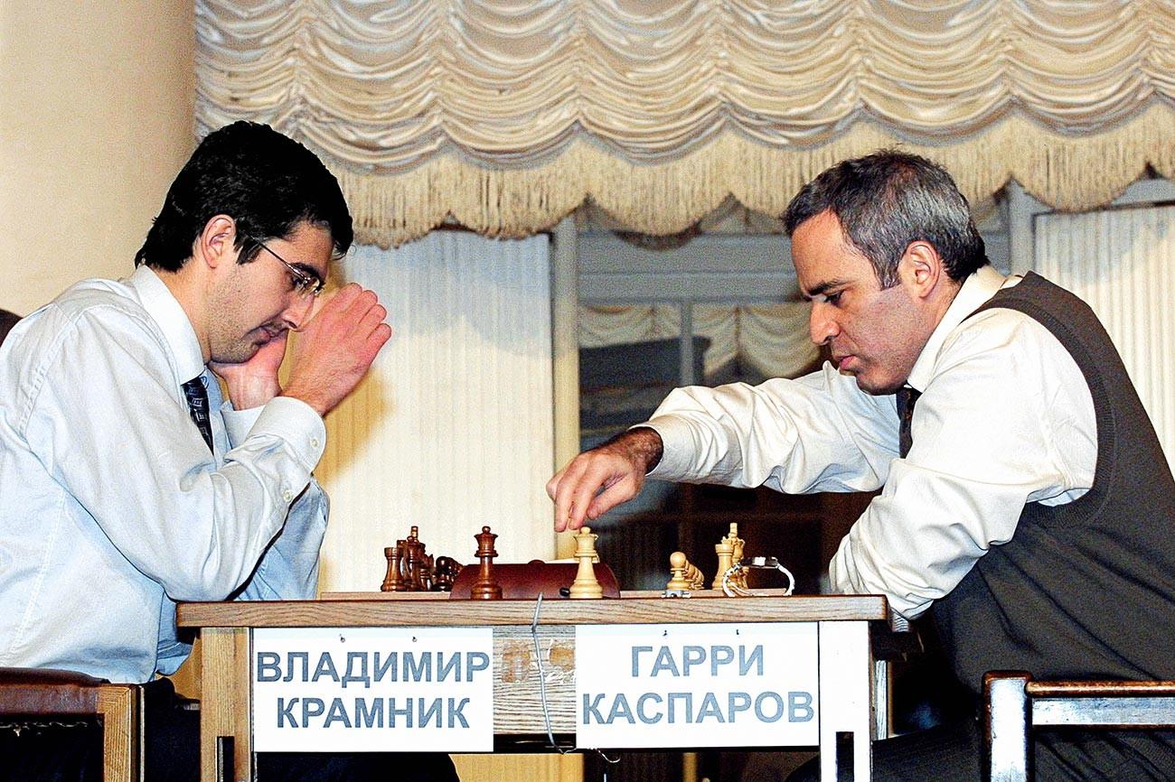 Крамник против Каспарова, 2001.