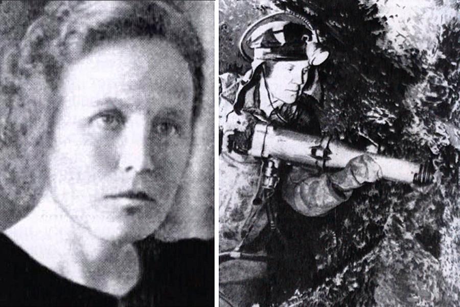 Minenarbeiterin Maria Kosogorowa