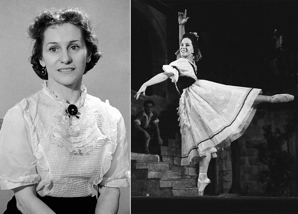 Olga Lepeshinskaya in 'Mirandolina' ballet