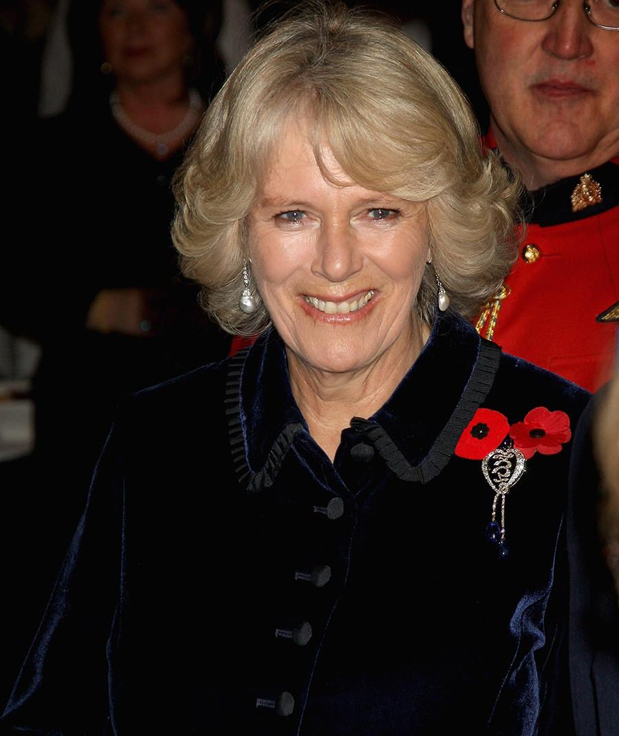"""Камила, војвоткиња од Корнвола за време пријема у """"The Rooms"""" (културни објекат у коме је смештена уметничка галерија, архив и музеј Њуфаундленда и Лабрадора), Сент Џонс, Канада, 3. новембар 2009."""
